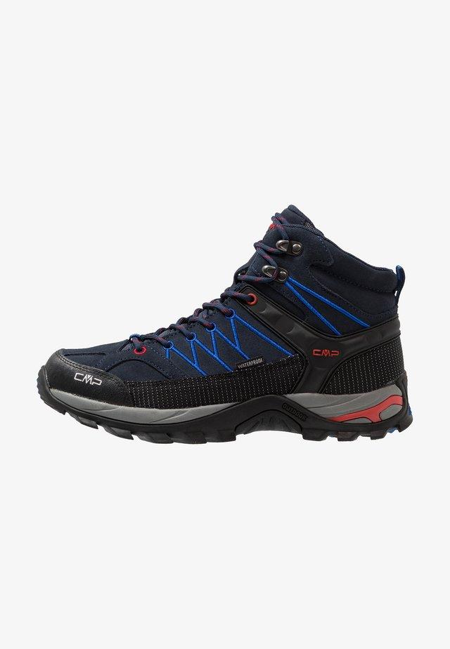 RIGEL MID TREKKING SHOES WP - Hiking shoes - blue/royal
