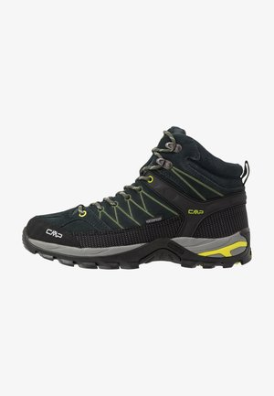 RIGEL MID TREKKING SHOES WP - Obuwie hikingowe - jungle/muschio