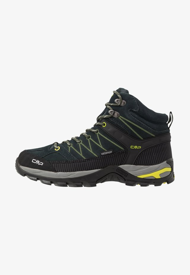 RIGEL MID TREKKING SHOES WP - Hiking shoes - jungle/muschio