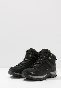 CMP - RIGEL MID TREKKING SHOES WP - Hiking shoes - dark green - 2
