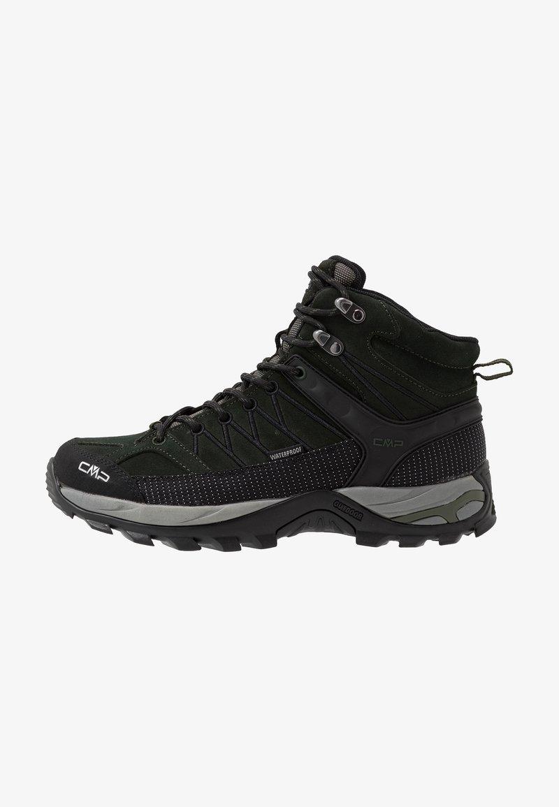 CMP - RIGEL MID TREKKING SHOES WP - Hiking shoes - dark green