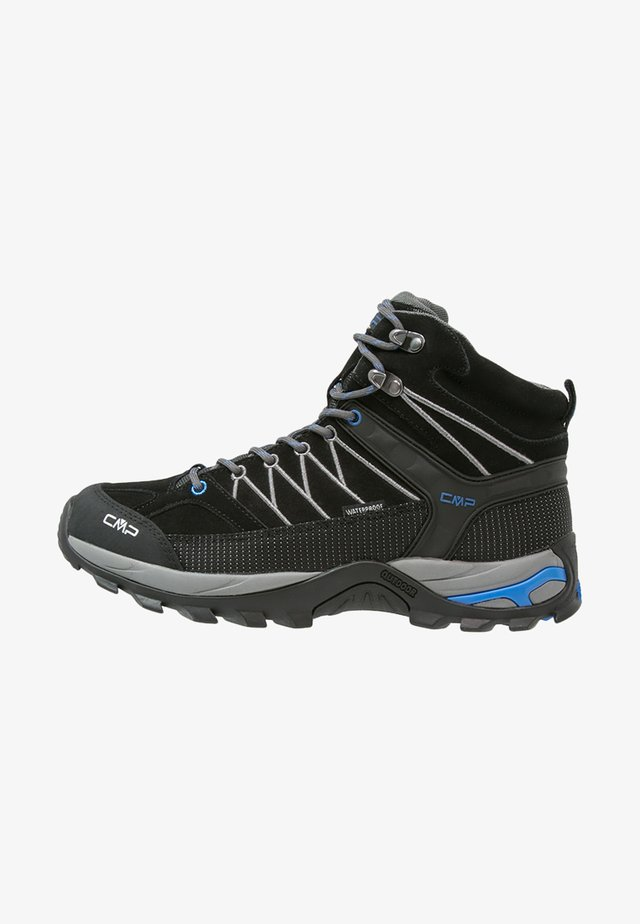 RIGEL MID TREKKING SHOES WP - Hiking shoes - nero