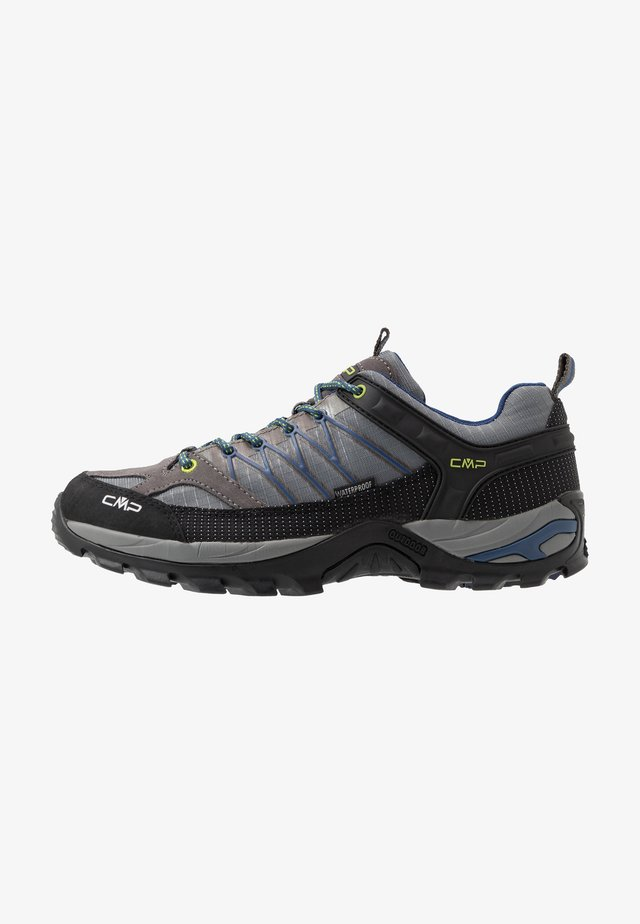 RIGEL LOW TREKKING SHOES WP - Hikingsko - graffite/marine
