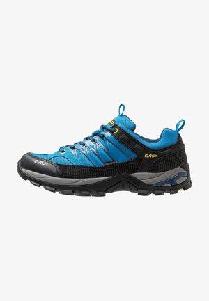 RIGEL LOW TREKKING SHOES WP - Hiking shoes - indigo/marine