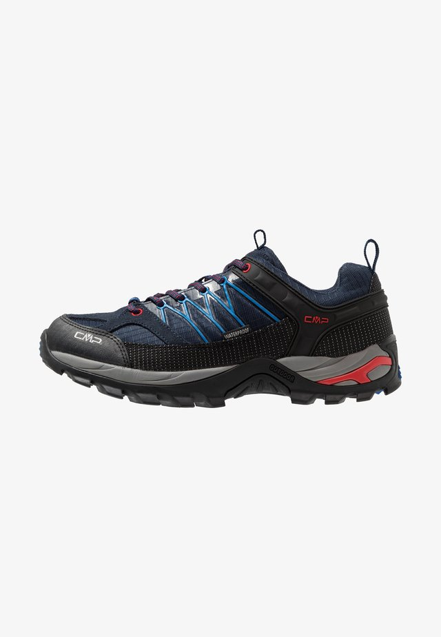 RIGEL LOW TREKKING SHOES WP - Hiking shoes - blue/royal