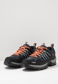 CMP - RIGEL LOW TREKKING SHOES WP - Obuwie hikingowe - antracite/flash orange - 2
