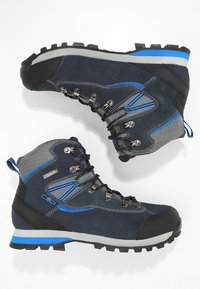 CMP - ARIETIS TREKKING SHOES WP - Hikingskor - black/blue