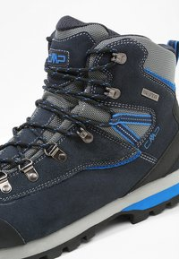CMP - ARIETIS TREKKING SHOES WP - Hikingskor - black/blue - 5