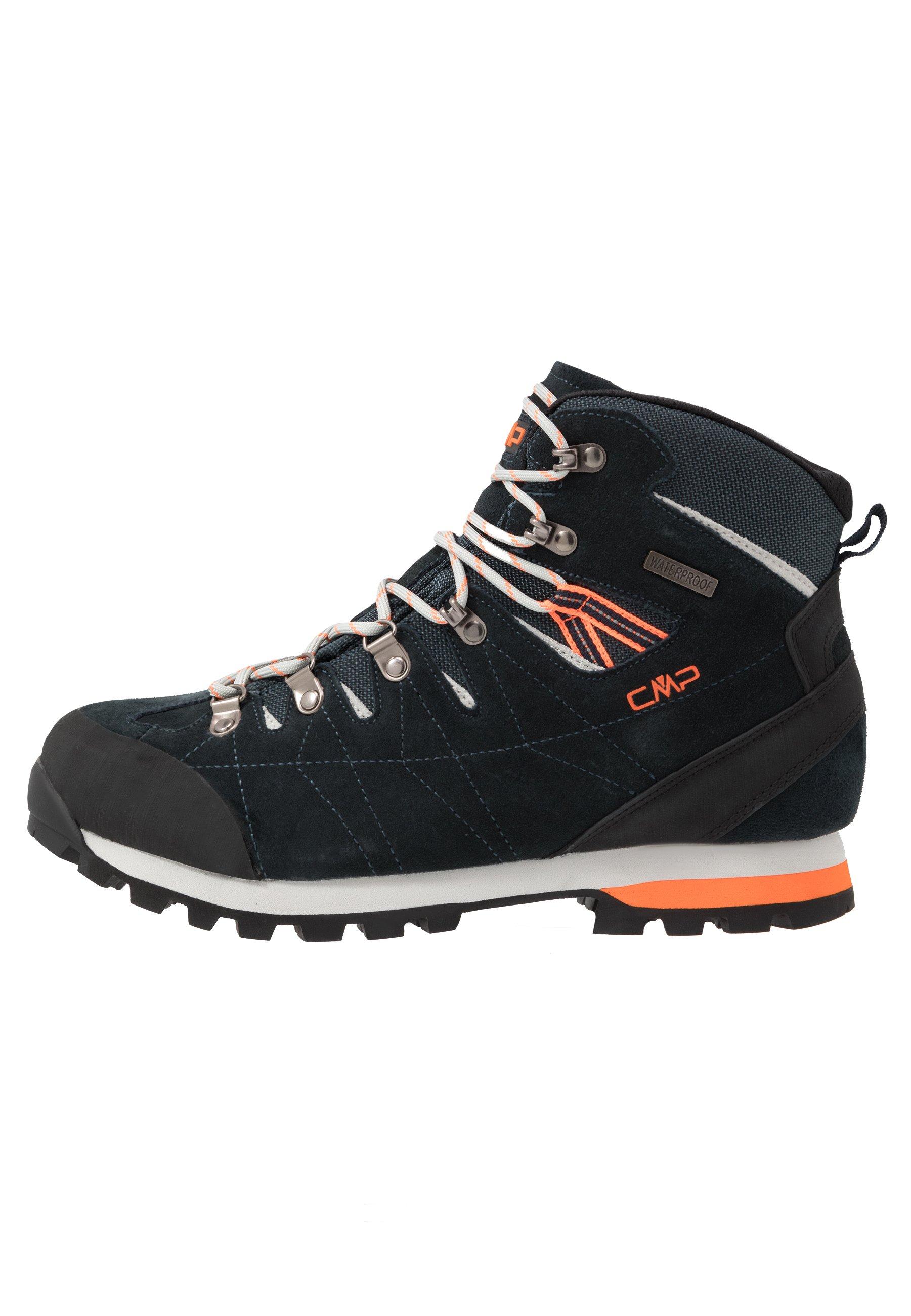 Cmp Arietis Trekking Shoes Wp - Chaussures De Marche Antracite/flash Orange