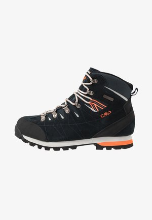 ARIETIS TREKKING SHOES WP - Obuwie hikingowe - antracite/flash orange