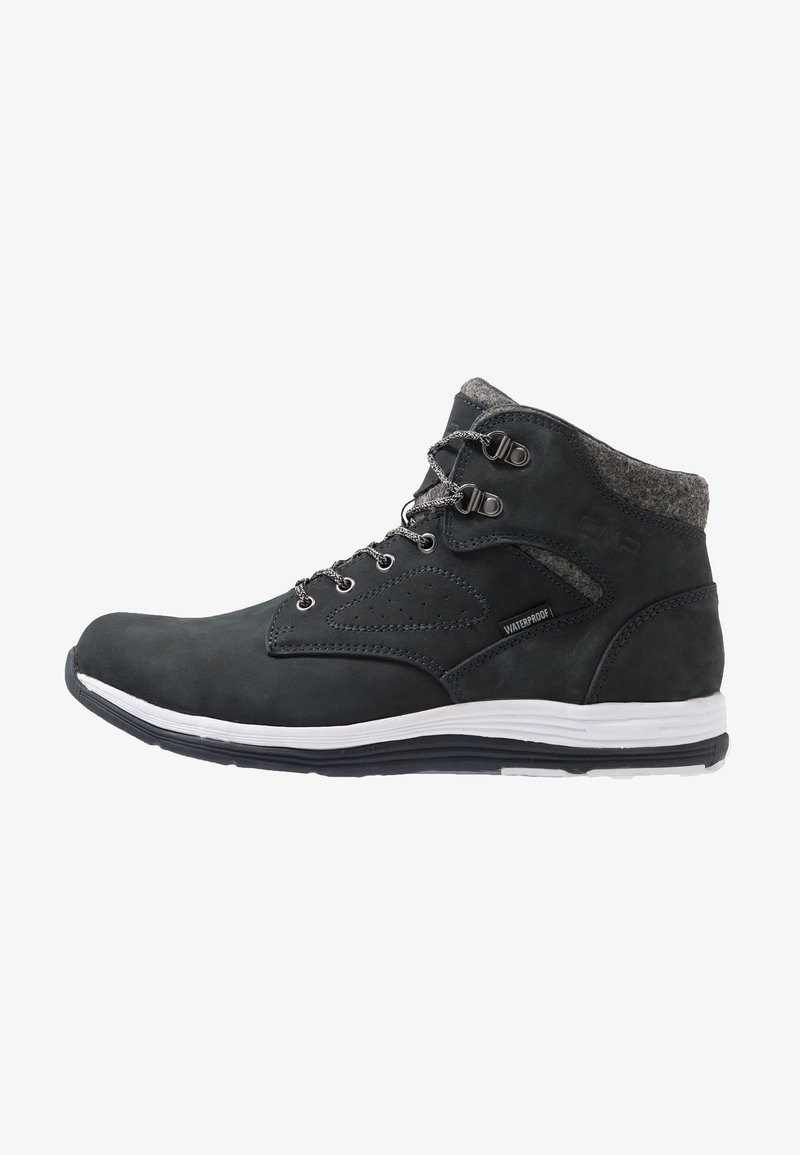 CMP - NIBAL MID LIFESTYLE SHOE WP - Hiking shoes - antracite