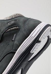 CMP - NIBAL MID LIFESTYLE SHOE WP - Chaussures de marche - antracite - 5