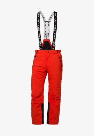 MAN SKI STRETCH SALOPETTE - Snow pants - tango