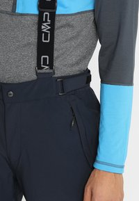 CMP - MAN SKI STRETCH SALOPETTE - Snow pants - black blue - 4