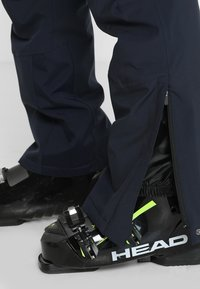 CMP - MAN SKI STRETCH SALOPETTE - Snow pants - black blue - 5