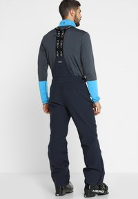 CMP - MAN SKI STRETCH SALOPETTE - Snow pants - black blue - 2