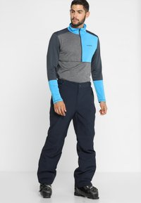 CMP - MAN SKI STRETCH SALOPETTE - Snow pants - black blue - 3