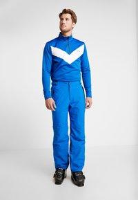 CMP - MAN SKI STRETCH SALOPETTE - Snow pants - royal - 3
