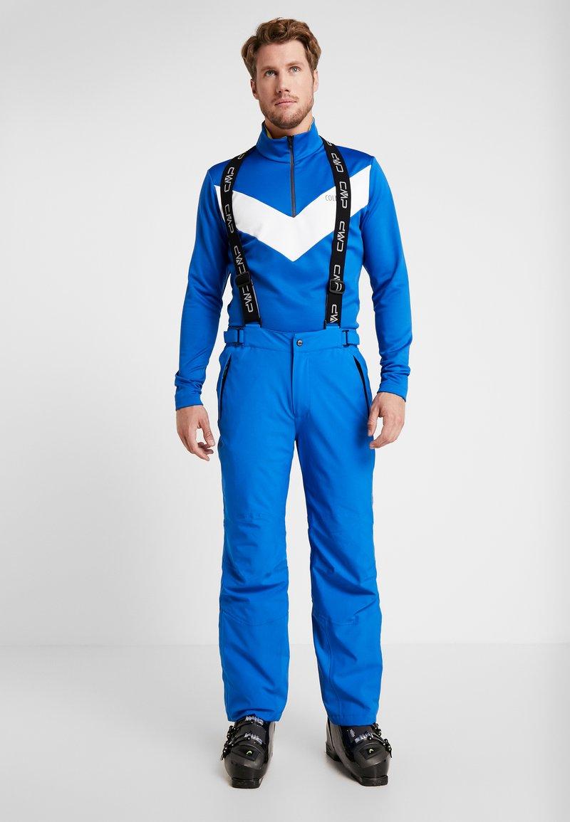 CMP - MAN SKI STRETCH SALOPETTE - Snow pants - royal