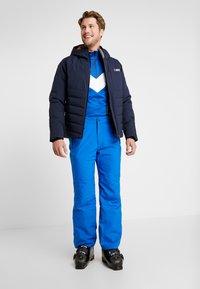 CMP - MAN SKI STRETCH SALOPETTE - Snow pants - royal - 1