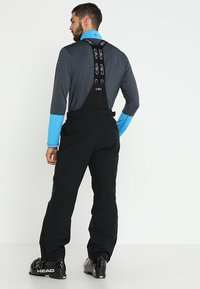 CMP - MAN SKI STRETCH SALOPETTE - Schneehose - nero - 2