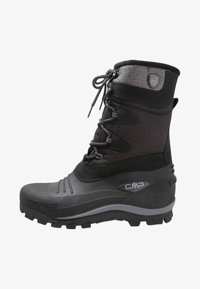 NIETOS - Botas para la nieve - nero melange