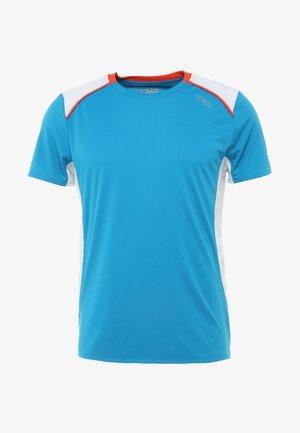 MAN  - T-shirt imprimé - cyano