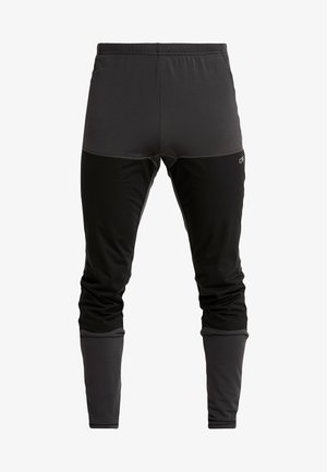 MAN LONG TIGHTS - Trousers - antracite
