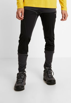 MAN LONG TIGHTS - Kalhoty - antracite