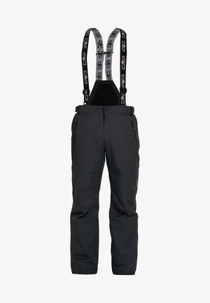MAN PANT - Zimní kalhoty - nero melange