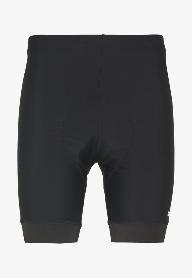 MAN BIKE SHORTS WITH PADS - Collants - nero