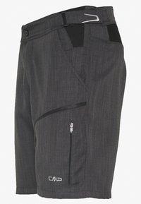 CMP - MAN FREE BIKE BERMUDA WITH INNER UNDERWEAR - Sports shorts - nero - 2