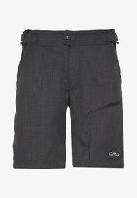 CMP - MAN FREE BIKE BERMUDA WITH INNER UNDERWEAR - Sports shorts - nero - 0