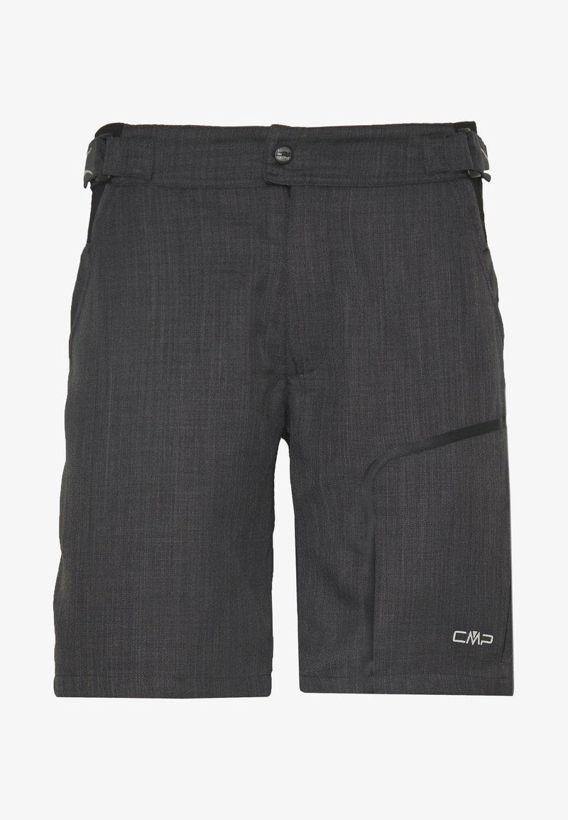 CMP - MAN FREE BIKE BERMUDA WITH INNER UNDERWEAR - Sports shorts - nero
