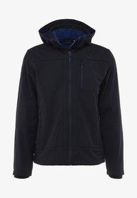CMP - MAN JACKET ZIP HOOD - Softshellová bunda - blue/marine - 5