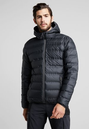 MAN FIX HOOD JACKET - Down jacket - antracite