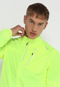 CMP - MAN TRAIL JACKET - Sports jacket - yellow fluorecent - 3