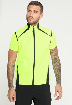 MAN TRAIL VEST - Kamizelka - yellow fluorecent