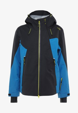MAN JACKET FIX HOOD - Skijacke - antracite