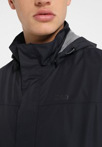 CMP - MAN JACKET BUTTONS HOOD - Hardshell jacket - antracite - 7