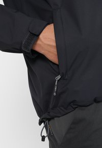 CMP - MAN JACKET BUTTONS HOOD - Hardshell jacket - antracite - 5