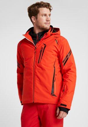 MAN JACKET ZIP HOOD - Ski jacket - tango