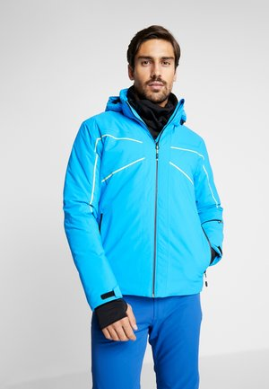 MAN JACKET ZIP HOOD - Ski jas - river