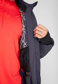 CMP - MAN JACKET ZIP HOOD - Ski jacket - antracite - 7