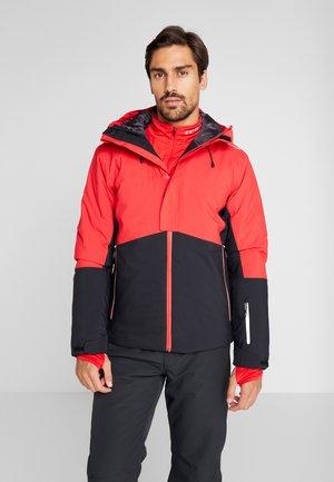 MAN JACKET FIX HOOD - Ski jacket - nero