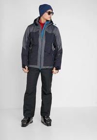 CMP - MAN JACKET LONG ZIP HOOD - Ski jas - antracite - 1