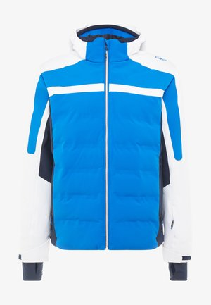 MAN JACKET ZIP HOOD - Ski jas - royal