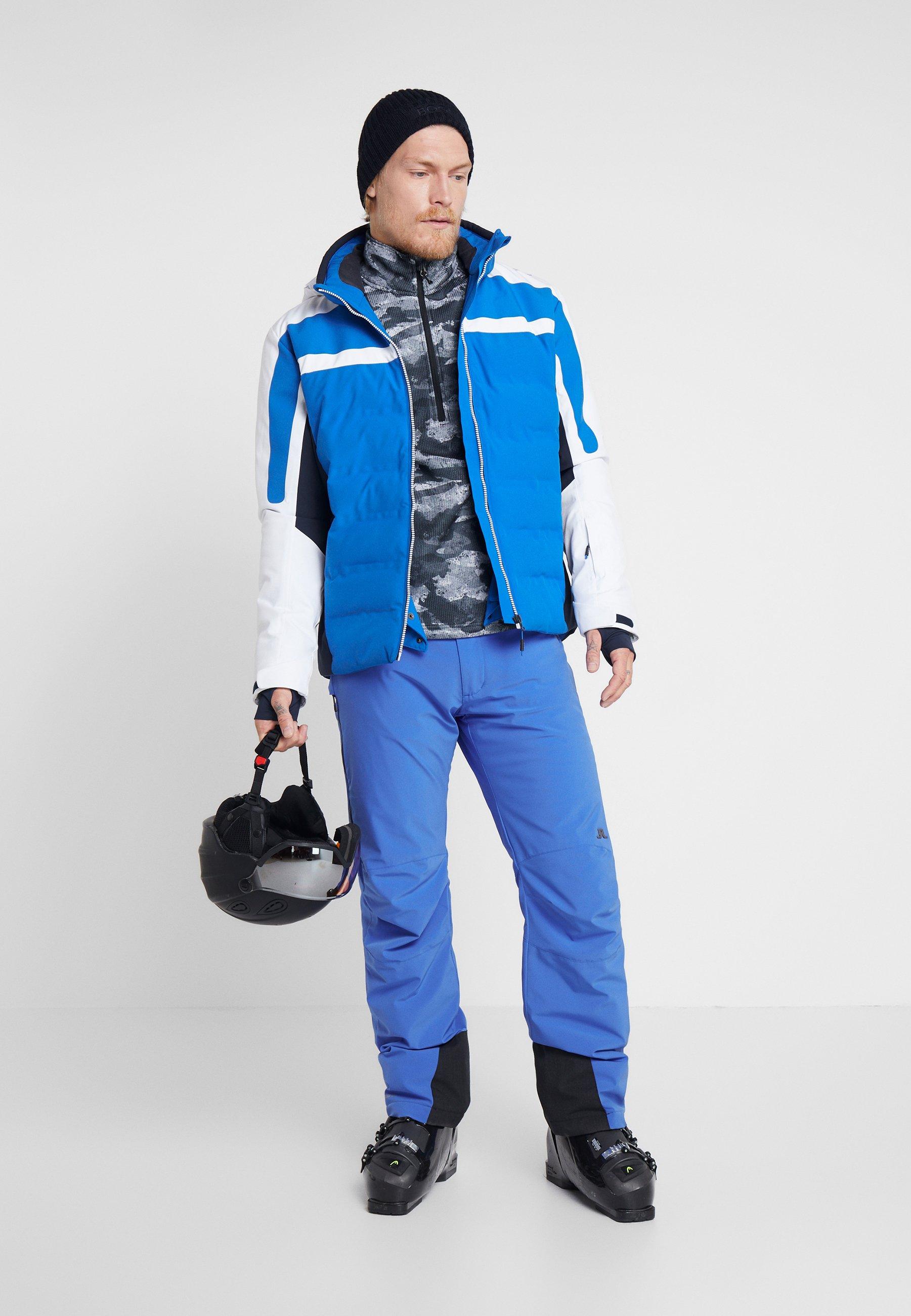 CMP MAN JACKET ZIP HOOD - Kurtka narciarska - royal