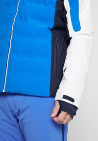 CMP - MAN JACKET ZIP HOOD - Ski jas - royal - 4