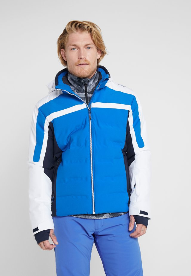 MAN JACKET ZIP HOOD - Lyžařská bunda - royal